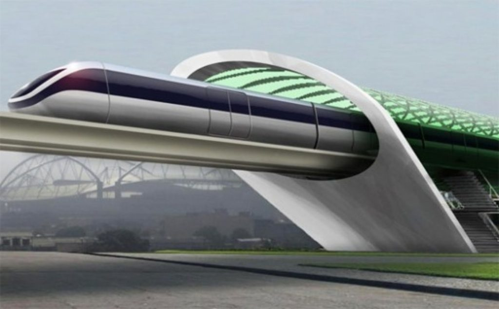 Hyperloop transportation