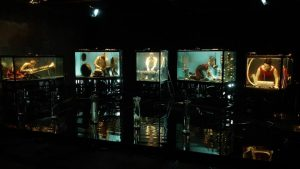 Aquasonic-First underwater music concert