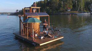 Travel on Sailing Sauna