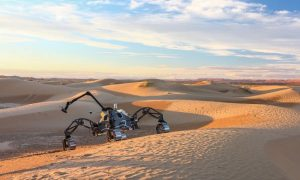 Robots invade Mars in the name of Research